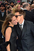Susan Downey, Robert Downey Jr, Odeon Leicester Square