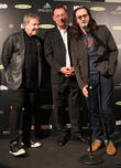 Alex Lifeson, Neil Peart and Geddy Lee