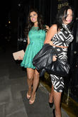 Jessica Wright seen leaving the Crazy Bear