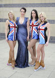 Jenna Smith, Ruth Lorenzo, Beth Tweddle and Brianne Delcourt
