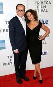 Jennifer Grey and Clark Gregg