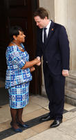Doreen Lawrence and Nick Clegg