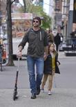 Hugh Jackman and Ava Jackman