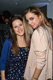 Amber Le Bon and Juliet Conway