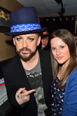 Boy George and Juliet Conway