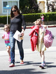 Jennifer Garner, Violet Affleck And Seraphina...
