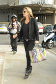Kate Moss shopping at Rellik vintage clothing boutique