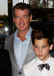 Pierce Brosnan and Paris Brosnan