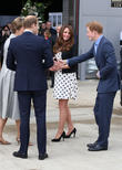 Prince William, Prince Harry, Catherine, Duchess of Cambridge and Kate Middleton