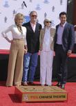 Jane Fonda, Peter Fonda, Shirlee Fonda and Troy Garity