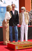 Jane Fonda, Peter Fonda. Shirlee Fonda and Troy Garity