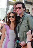 Eva Longoria and Jim Carrey
