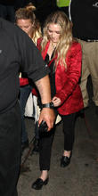 celebrities leave the echoplex in hollywood 270413