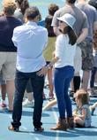 Jennifer Garner, Seraphina Affleck and Ben Affleck