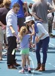 Jennifer Garner, Seraphina Affleck, Ben Affleck and Violet Affleck