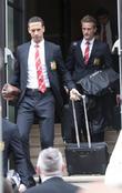 Rio Ferdinand and Anders Lindegaard