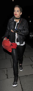 Rita Ora visits best friend Cara Delevingne