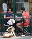 marc jacobs and lorenzo martone having brunch 280413