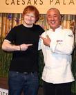Ed Sheeran and Nobu Matsuhisa