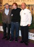 Robert DeNiro, Ed Sheeran and Nobu Matsuhisa