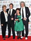 Lynda Bellingham, Michael Ball, Imelda Staunton and Brian May