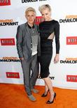 Ellen DeGeneres, Portia de Rossi, TCL Chinese Theater