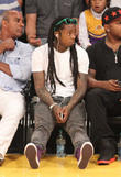 celebrities watch the los angeles lakers play the s 290413
