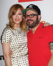 Judy Greer and David Cross