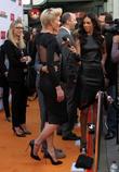 Portia de Rossi and Terri Seymour