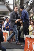 Sam Worthington and Mario Lopez