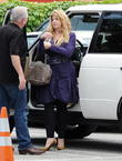 Kirstie Alley Denies Feud With Leah Remini