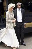 Kofi Annan and Nane Annan