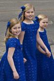 Ariane, Princess Alexia, Princess Catharina Amalia, Amsterdam