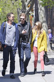 elizabeth olsen and boyd holbrook out in soho on a 300413