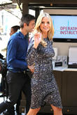 Heidi Klum Kicks Off The 'Right End' Hair Revolution at The Grove