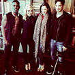 Katherine Jenkins, Kelly Brook, Danny Cipriani and Luke James