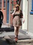 courtney love walking in the west village 020513
