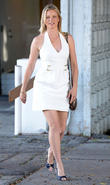 amy smart attends a business meeting 020513