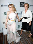 Kylie Minogue and Carolina Herrera