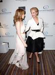 Kylie Minogue and Carolina Herrera