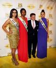 Miss Teen Usa Logan West, Miss Usa Nana Meriwether, Joseph Wilguest and Miss Universe Olivia Culpo
