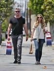 eric dane and rebecca gayheart leaving fred segal a 030513
