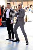 Psy and Matt Lauer