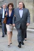 Gerard Depardieu and Jacqueline Bisset