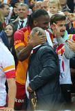 Fatih Terim and Didier Drogba