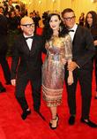 Stefano Gabbana, Katy Perry and Domenico Dolce
