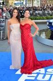Jordana Brewster and Michelle Rodriguez