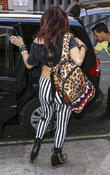 little mix arrive at kiss fm 070513