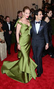 Uma Thurman and Zac Posen