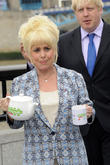 Barbara Windsor and Boris Johnson